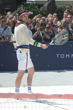 Editorial image of Tommy Hilfiger and Rafael Nadal Launch Global Brand Ambassadorship, New York, America - 25 Aug 2015