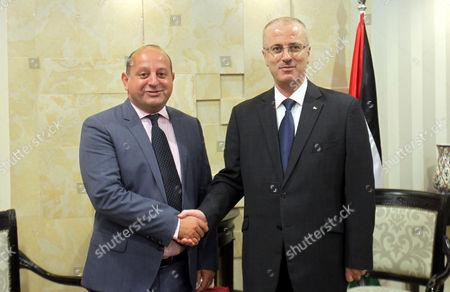 Editorial picture of EU representative to Palestinian Territories John Rutter visit to Ramallah, Palestinian Territories - 25 Aug 2015