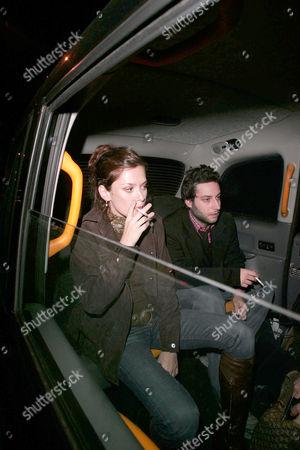Anna Friel and Adam Busch