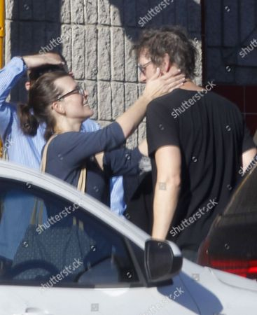 Editorial image of Milla Jovovich and Paul WS Anderson out and about, Cape Town, South Africa - 25 Aug 2015