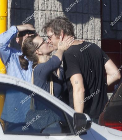 Stock Image of Milla Jovovich and Paul WS Anderson