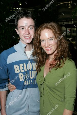Ryan Kelley and Kim Myers