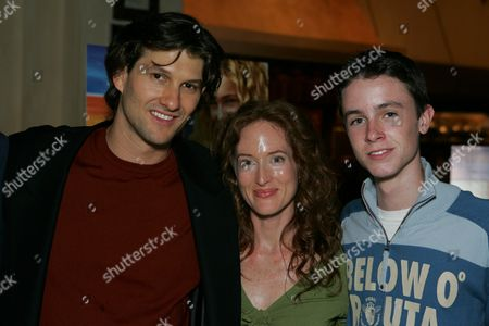 Director Eric Small, Kim Myers, Ryan Kelley