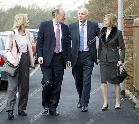 Sandra and Michael Howard with Iain and Betsy Duncan Smith