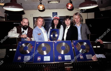 Gillan - Ian Gillan, John McCoy, Mick Underwood, Colin Towns and Bernie Torme
