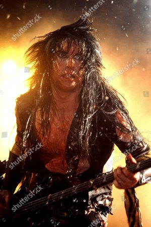 Blackie Lawless of WASP in concert in Hammersmith Odeon - 1985