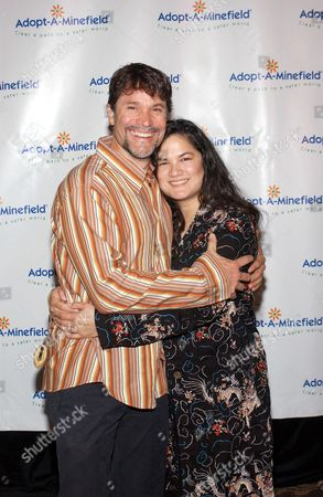 Peter Reckell and wife Kelly Moneymaker