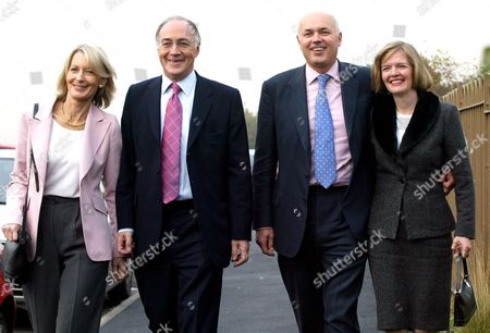 Sandra and Michael Howard, Iain Duncan Smith and his wife Betsy