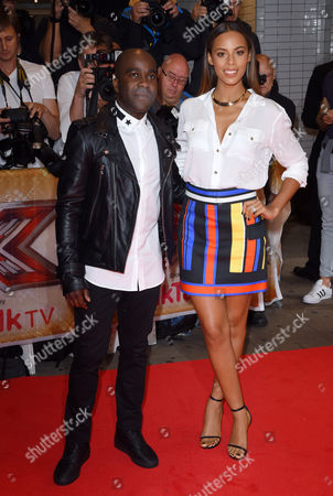 Melvin O'Doom and Rochelle Humes