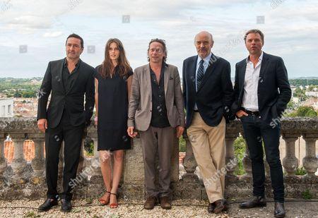 Gilles Lellouche, Marine Vacth, Mathieu Amalric, Jean Paul Rappeneau, Guillaume De Tonquedec