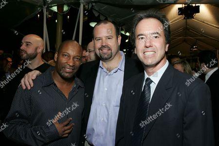 John Singleton, Marc Shmuger and Rick Finkelstein