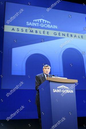 Jean Louis Beffa, Chief Executive of Saint Gobain