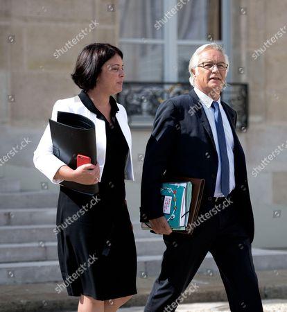 Sylvia Pinel and Francois Rebsamen