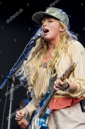 Stock Image of The Ting Tings - Katie White