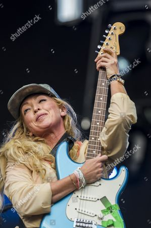 Stock Photo of The Ting Tings - Katie White