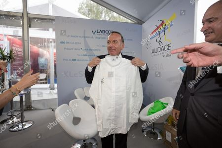French employers' association Medef President Pierre Gattaz