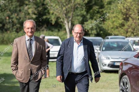 Gerard Longuet and Herve Novelli