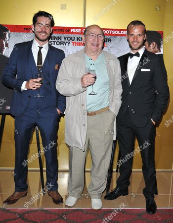 Simon Cotton, Freddie Foreman and Kevin Leslie