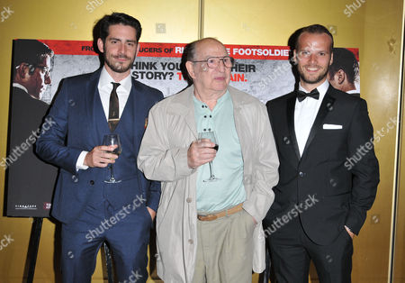 Stock Image of Simon Cotton, Freddie Foreman and Kevin Leslie