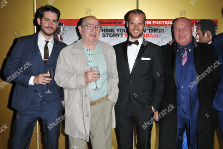 Stock Picture of Simon Cotton, Freddie Foreman, Kevin Leslie and Dave Courtney