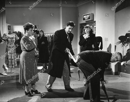 Stock Image of Irene Handl, Stewart Granger, Mary Stone and George Street