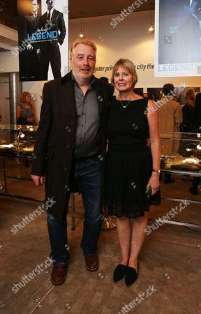 David George and Zelda Cheatle