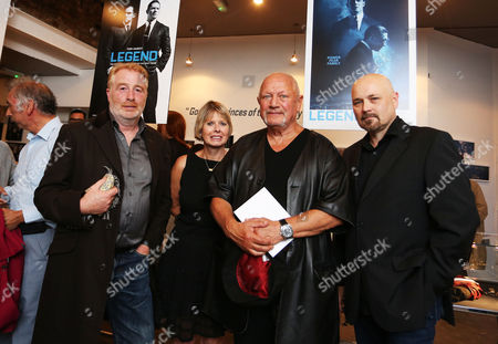 David George, Zelda Cheatle, Steven Berkoff and Chris Duffy