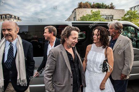 'Belle Familles' photocall - Mathieu Amalric, Jean-Paul Rappeneau, Claire Perron and Guillaume de Tonquedec