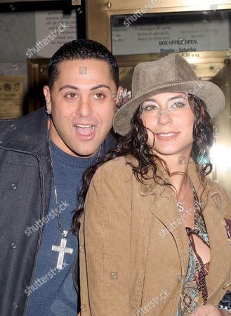 DJ Skribble and wife