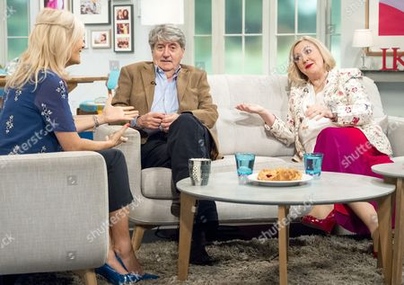 Gaby Roslin with Tom Conti and Gwen Taylor
