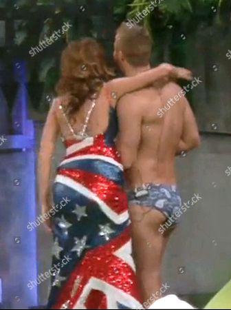 Editorial image of 'Celebrity Big Brother: UK vs USA' TV show, Elstree Studios, Hertfordshire, Britain - 27 Aug 2015