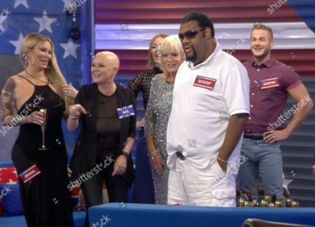 Editorial photo of 'Celebrity Big Brother: UK vs USA' TV show, Elstree Studios, Hertfordshire, Britain - 27 Aug 2015