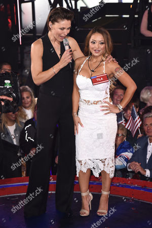 Emma Willis and Tila Tequila