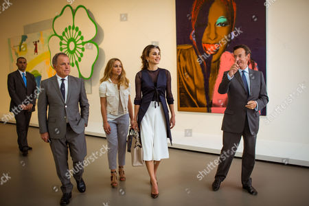 Queen Rania and Princess Iman