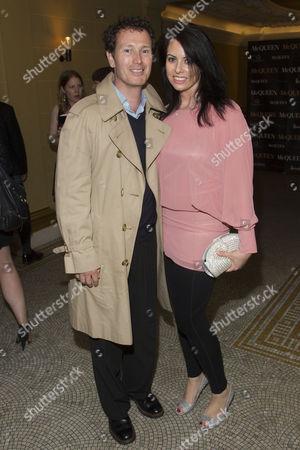 Nick Moran and Jasmin Duran