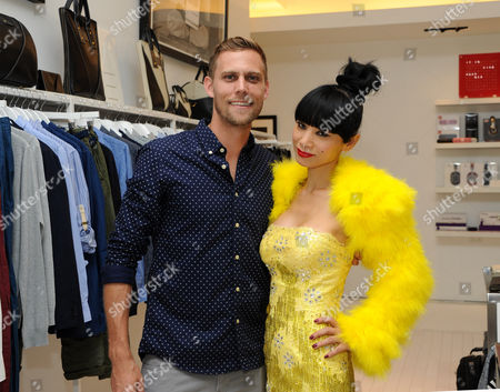 Stock Picture of Justin Biel and Bai Ling
