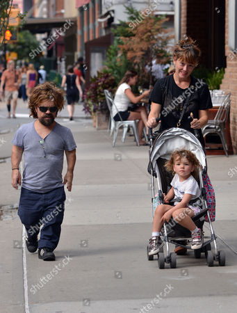 Editorial image of Peter Dinklage out and about, New York, America - 27 Aug 2015
