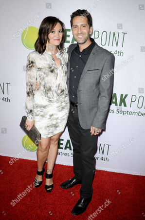 Jay Karas and wife Monica