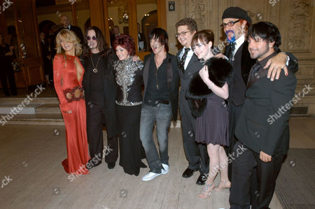 Roberta Howett, Ozzy Osbourne, Sharon Osbourne, Tabby Callaghan, Jack Osbourne, Cassie Louise Edith Compton, Mark Hudson and Terry Longden