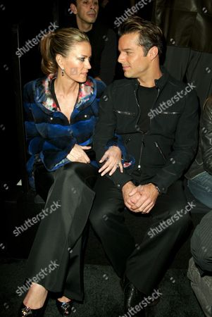 Ricky Martin and Rebecca de Alba