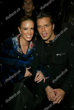 Stock Picture of Ricky Martin and Rebecca de Alba