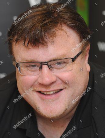 Editorial photo of Derek Landy 'Demon Road' book signing, Bluewater shopping centre, Kent, Britain - 28 Aug 2015