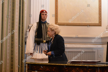 Vassiliki Thanou, highest judge of the Council of the State and new Prime Minister of Greece