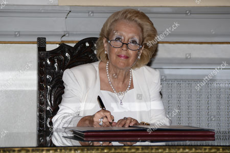 Swearing in ceremony of the newly appointed caretaker Greek Prime Minister Vassiliki Thanou