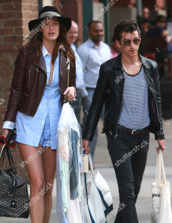 Editorial photo of Alex Turner and girlfriend Taylor Bagley out and about, New York, America - 27 Aug 2015