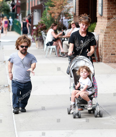Stock Photo of Peter Dinklage, Erica Schmidt and Zelig Dinklage
