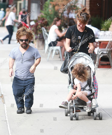 Stock Picture of Peter Dinklage, Erica Schmidt and Zelig Dinklage