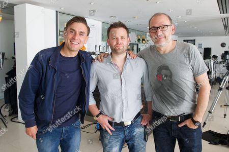 James Mullinger, Mark Murphy (director) and Chris Burke