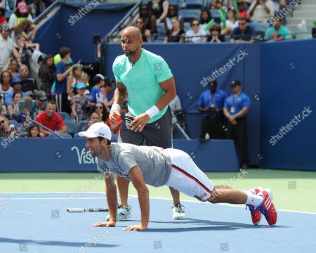 Shaun T, Novak Djokovic