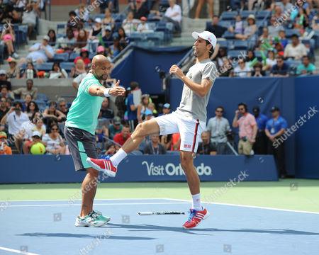 Stock Picture of Shaun T, Novak Djokovic